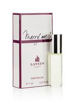 Масляный мини парфюм Lanvin Marry Me! (Ланвин Мэрри Ми!) 7 мл.