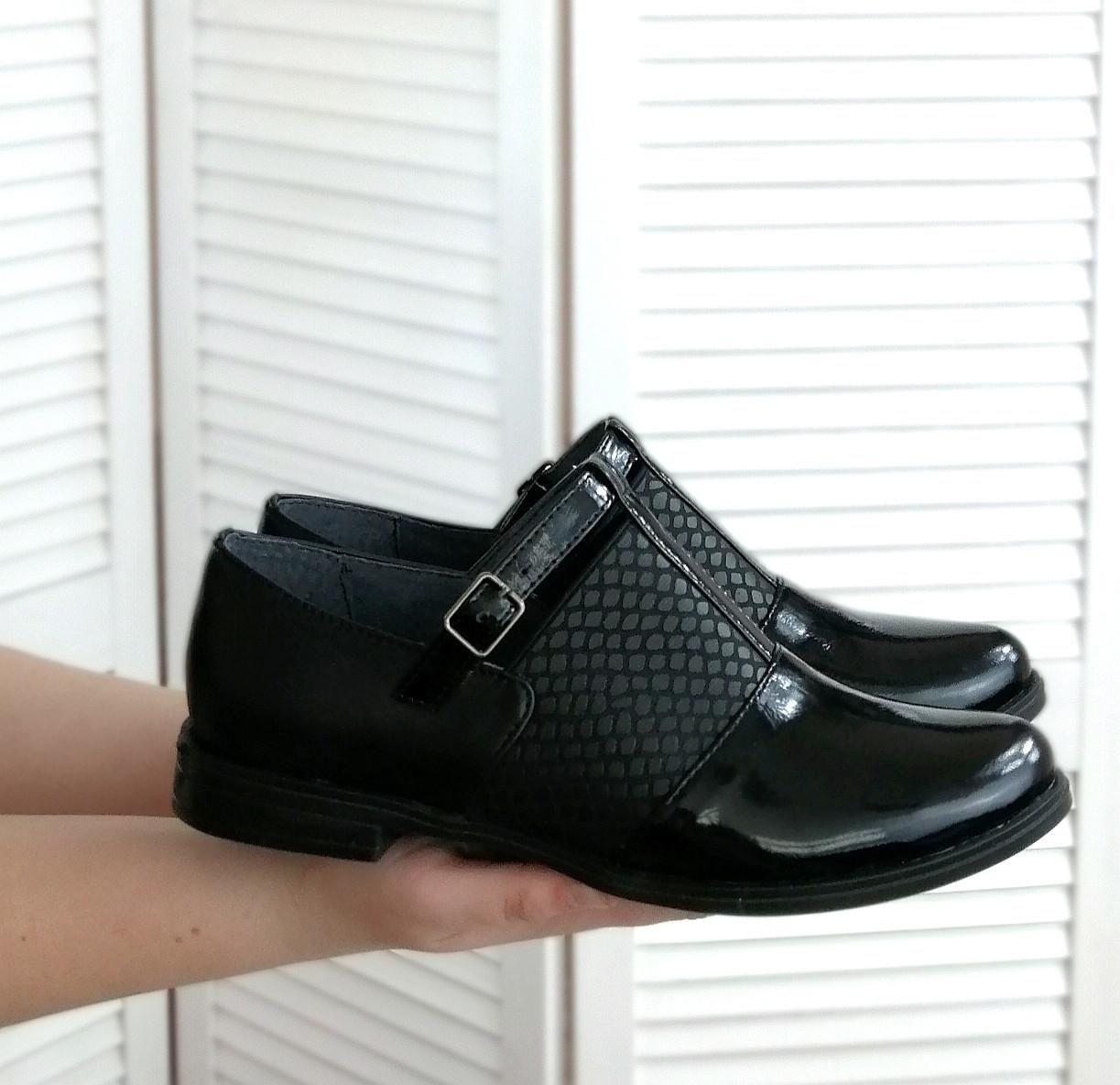 Стильні туфлі на низькому ходу