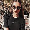Стильная женская футболка с модной вышивкой !, фото 2