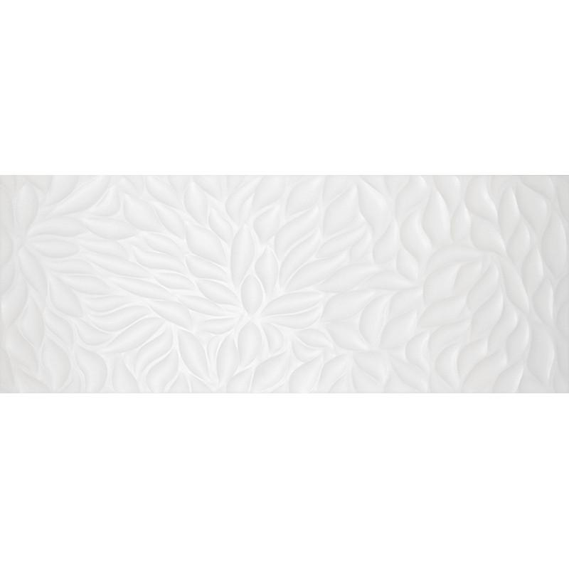 Кахель д/стіни ФЛОРЕНТІН 23х60 біла рельєф 061/Р