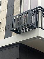 """Корзины  для установки  кондиционеров на фасаде здания с фасадом """"Камыш"""""""