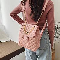 """Рюкзак жіночий стильний з ланцюжком, розмір 23*28 см """"MILANA"""" купити недорого від прямого постачальника"""