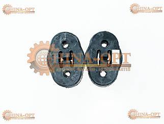 Гумка глушника (два отвори)