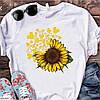Стильная женская футболка с модным принтом  !, фото 6