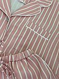 Женская льняная пижама для комфортного сна Pinky (size XL), фото 4