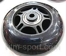 Колеса для роликовых коньков d-76 мм (8 колес с подшипниками и 16 втулок), фото 3