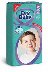 Подгузники детские Evy baby junior elastic jumbo 5 (11-25 кг) 48 шт