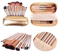 Набор кистей для макияжа Naked 12 шт в чехле