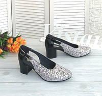 Туфли на каблуку від виробника, фото 1
