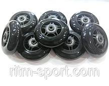Колеса для роликових ковзанів d-80 мм (8 коліс з підшипниками і втулками), фото 2