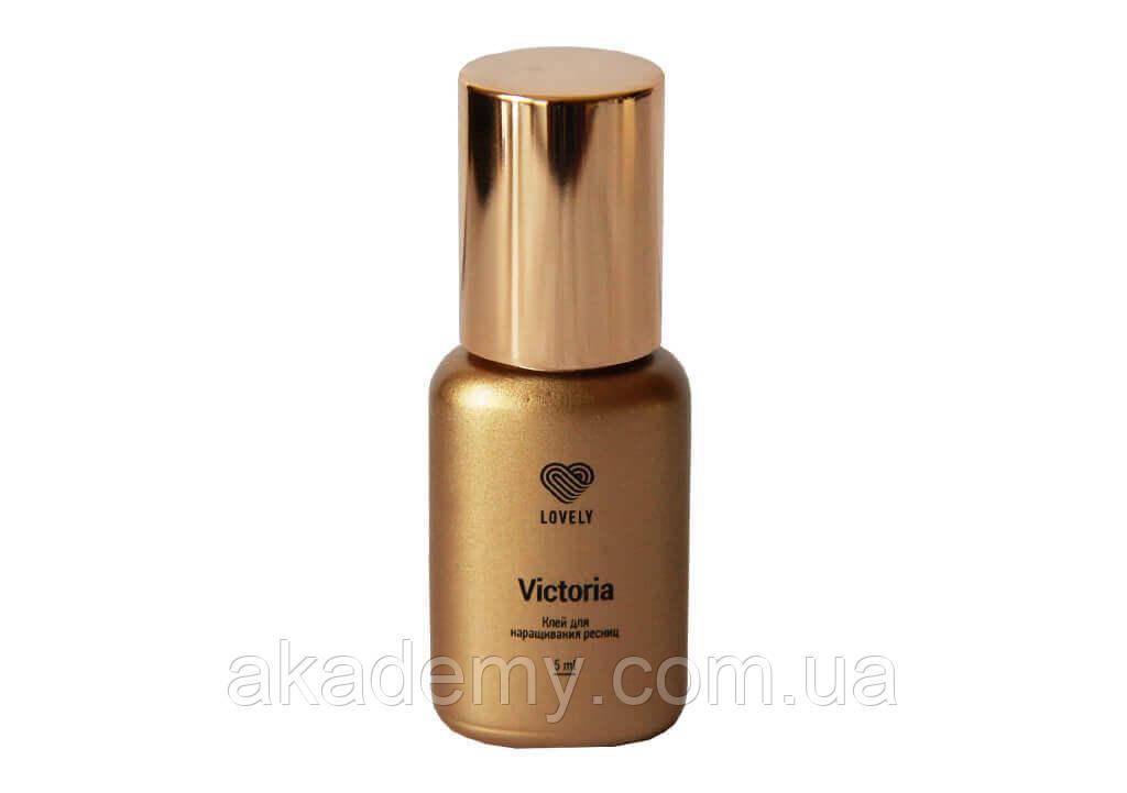 Клей чёрный Lovely Victoria Лавли 10мл