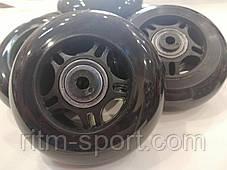 Колеса для роликовых коньков d-80 мм (8 колес с подшипниками и втулками), фото 3