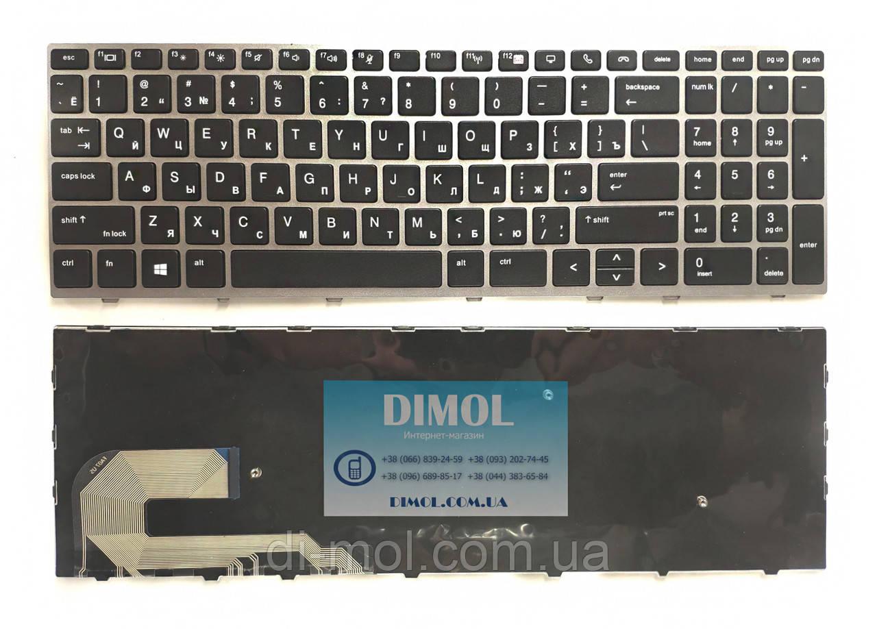 Оригінальна клавіатура для HP EliteBook 850 G5, EliteBook 755 G5 series, black, ukr