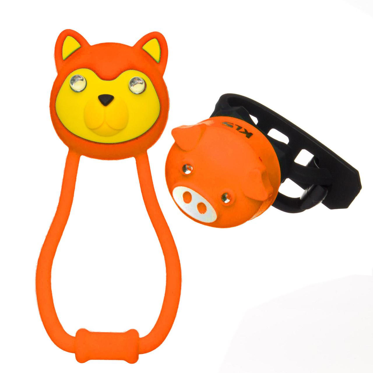 Набір дитячих мигалок KLS Animal Orange