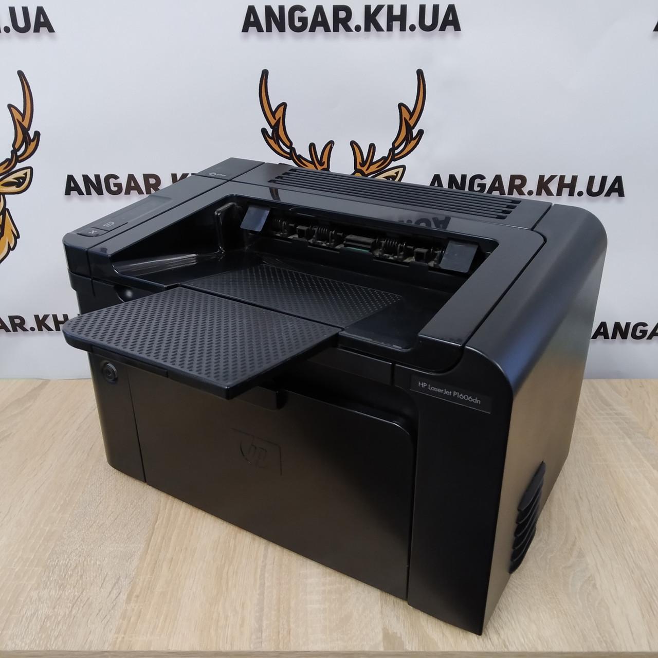 Принтер бу лазерный ч/б HP LaserJet 1606dn (Duplex / LAN)