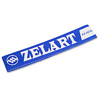 Лента сопротивления HIP LOOP Zelart, полиэстер, латекс, синий (СПО FI-1969-L)