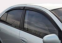 Дефлекторы окон (ветровики) Renault Megane 2 (sedan)(2002-2008), TT