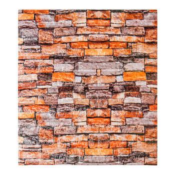 Декоративная 3Д-панель стеновая песчаник 700x770x5мм (самоклеющаяся 3d панель для стен)