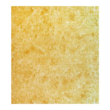 Декоративная 3Д-панель стеновая мрамор бежевый 700x770x5мм (самоклеющаяся 3d панель для стен)