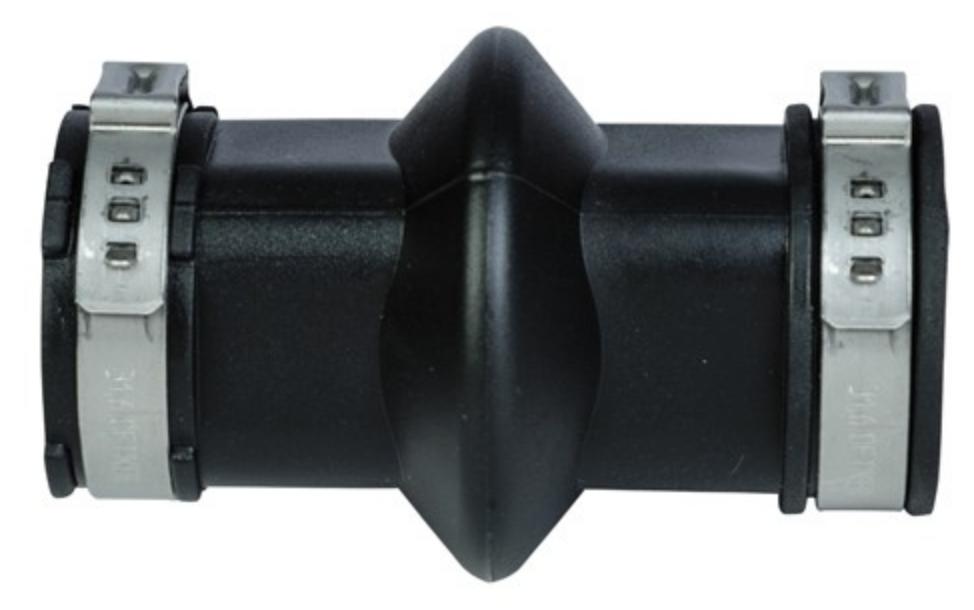 Муфта на систему поения, трубный соединитель для трубы 22х22