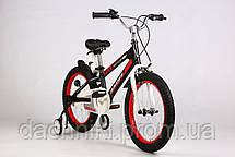 "Дитячий велосипед ARDIS SPACE ST 18"" рама 12"" Чорний (04152), фото 2"