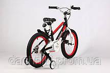 "Дитячий велосипед ARDIS SPACE ST 18"" рама 12"" Чорний (04152), фото 3"
