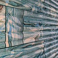Самоклеящаяся декоративная 3D панель бамбук кладка бирюза 700x700x9 мм (самоклейка, Мягкие 3D Панели), фото 2