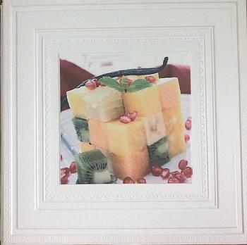 Самоклеящаяся картина десерт 700x700x7 мм (самоклеящийся рисунок)
