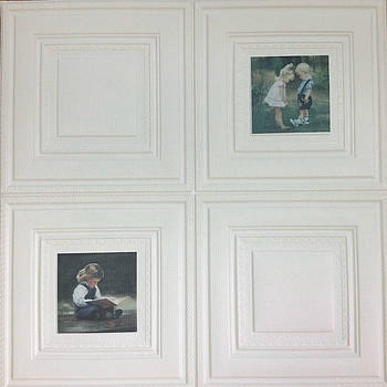 Самоклеящаяся картина дети 700x700x7 мм (самоклеящийся рисунок)