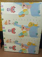 """Детский коврик """"Ростомер - Пегас"""" (складной развивающий коврик на пол) 2*1,5 м (толщина 10 мм), фото 4"""