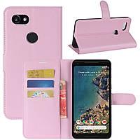 Чехол-книжка Litchie Wallet для Google Pixel 2 XL Pink