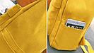 Рюкзак набор для девочки 2 предмета (пенал)с сердечком желтый., фото 9
