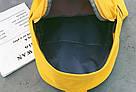 Рюкзак набор для девочки 2 предмета (пенал)с сердечком желтый., фото 10