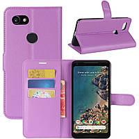 Чехол-книжка Litchie Wallet для Google Pixel 2 XL Violet