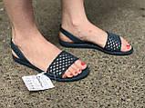 Ipanema Бразилия женские сандалии, босоножки синие, фото 5