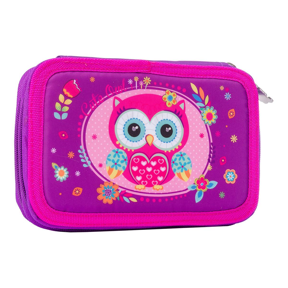 "Пенал твердый двойной HP-01 ""Little Owl"" код:532725"
