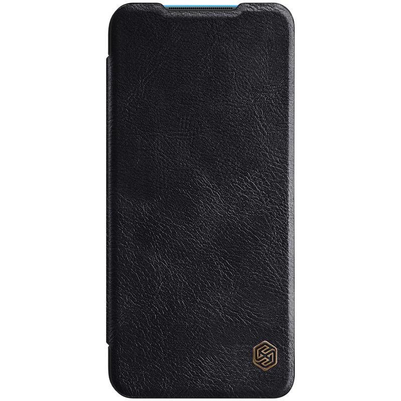 Nillkin Xiaomi Mi 10 Youth/ Mi 10 Lite Qin leather case Black Чехол Книжка