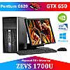 НЕДОРОГОЙ ИГРОВОЙ ПК ZEVS PC1700 Intel G620 + GTX 650 + Монитор 19''+ Клавиатура + Мышка