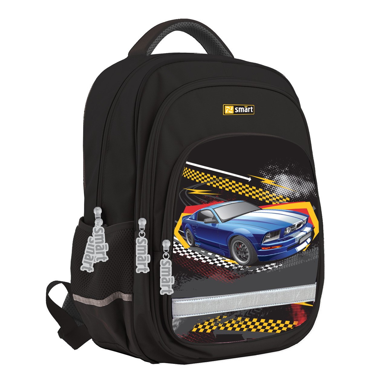 Рюкзак школьный ортопедический Smart SM-05 Rasing код:558190