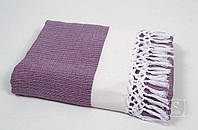Пляжное полотенце хаммам Buldans. Mercan mor-100х180