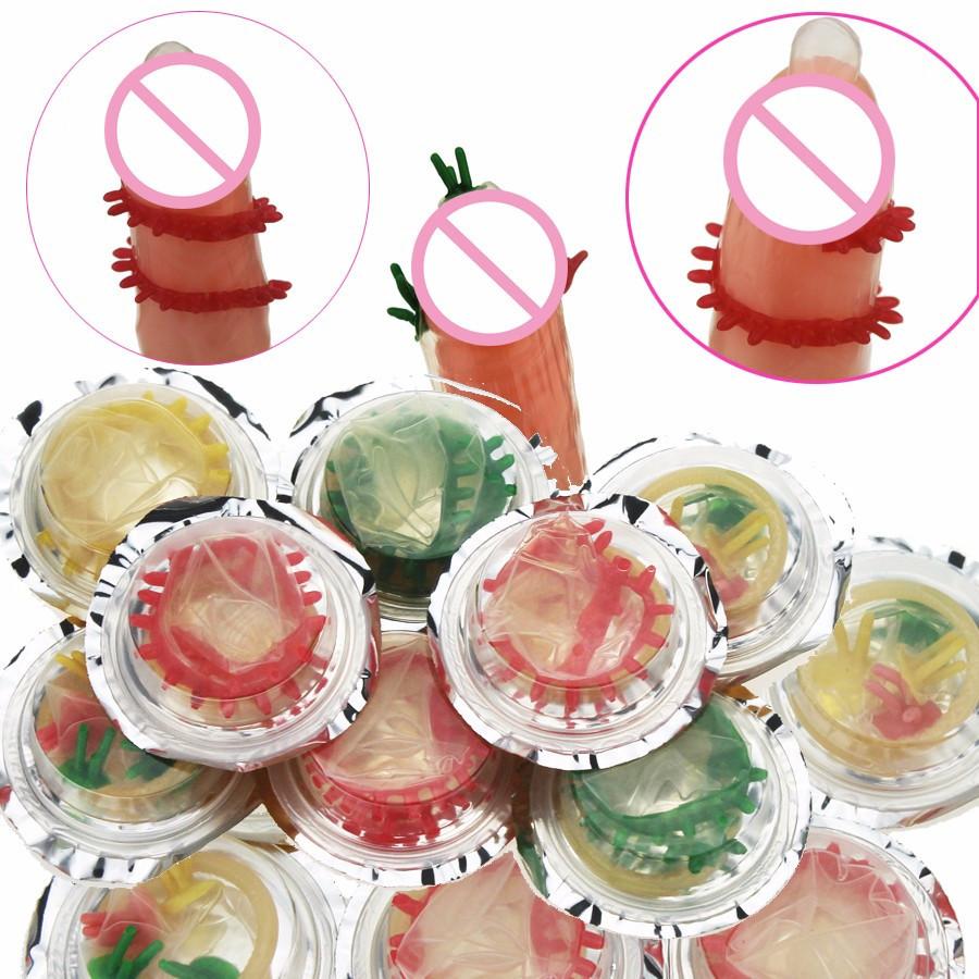 Презервативы с шипами