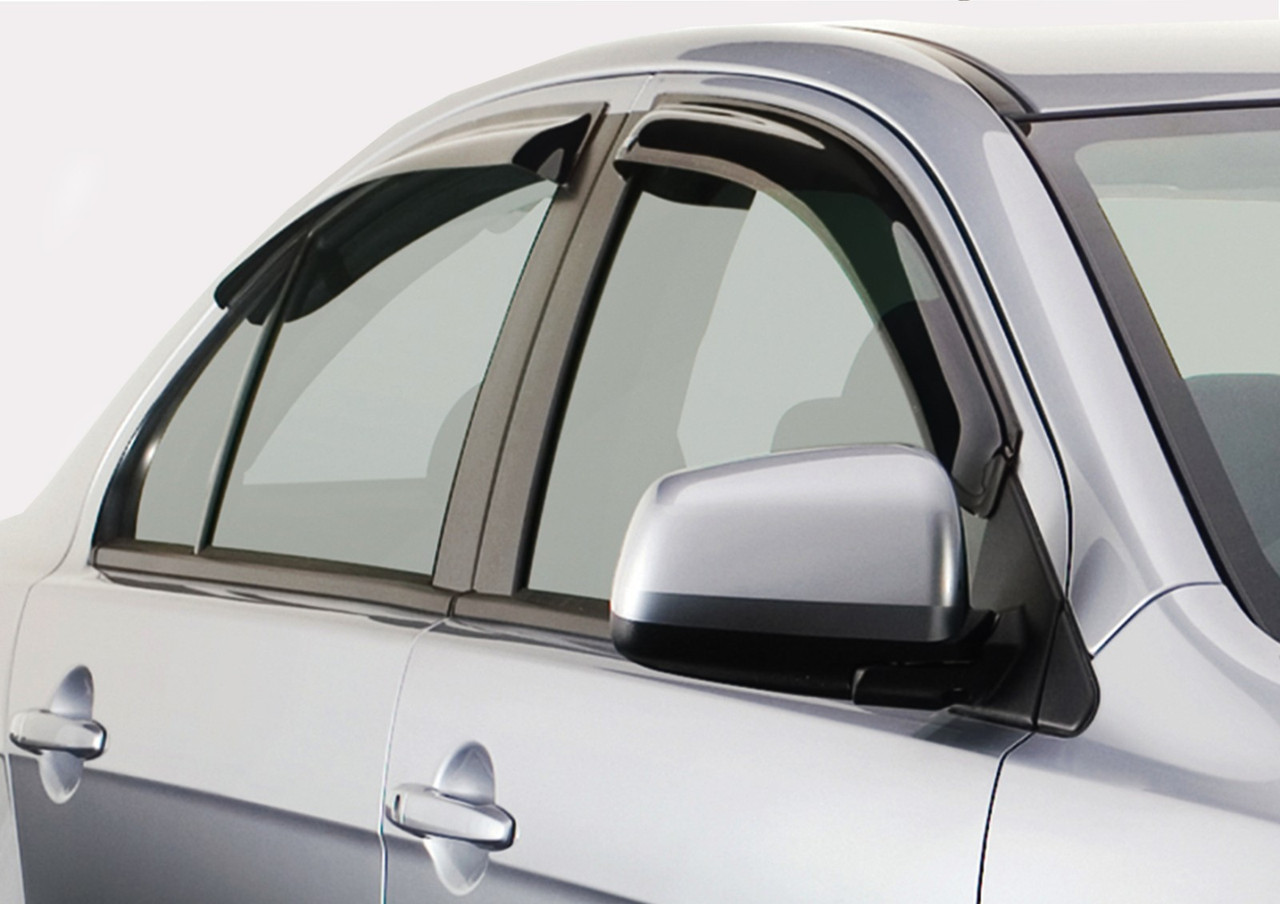 Дефлекторы окон (ветровики) Citroen C4 (3-двер.)(2004-)