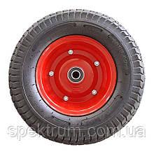 Колесо для тачки 16х6.50-8 пневматична діаметр 383 мм