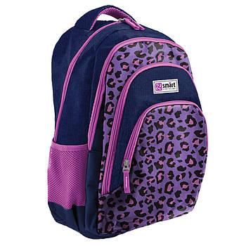 Рюкзак школьный ортопедический Smart TN-01 Four plus Leo код:558635