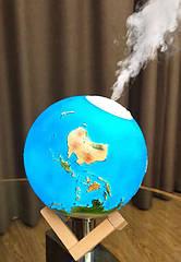 Увлажнитель воздуха - 3Д светильник Планета Земля. Диффузор-ночник Планета