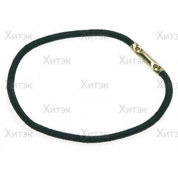 Sibel Резинки для волос черные 45 мм 10 шт