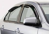 Дефлекторы окон (ветровики) Mitsubishi Lancer (hatchback)(2007-) , фото 1
