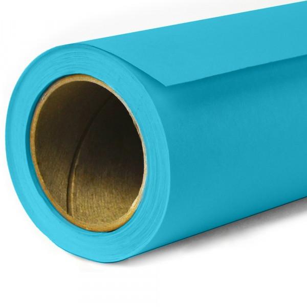 2,72х11м Panorama студийный бумажный голубой фон плотность 160г/м2