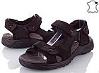 Сандалии мужские кожаные р.41 чёрные Adidas, фото 5