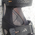 Сандалі чоловічі шкіряні р. 41 чорні Adidas, фото 3